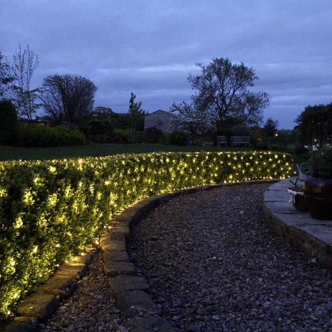 iluminacion de jardines y parques