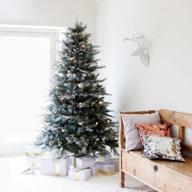 luces y series de navidad