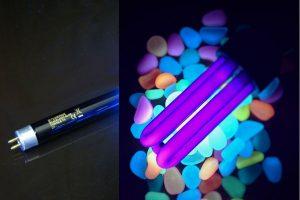 Luz negra ultravioleta
